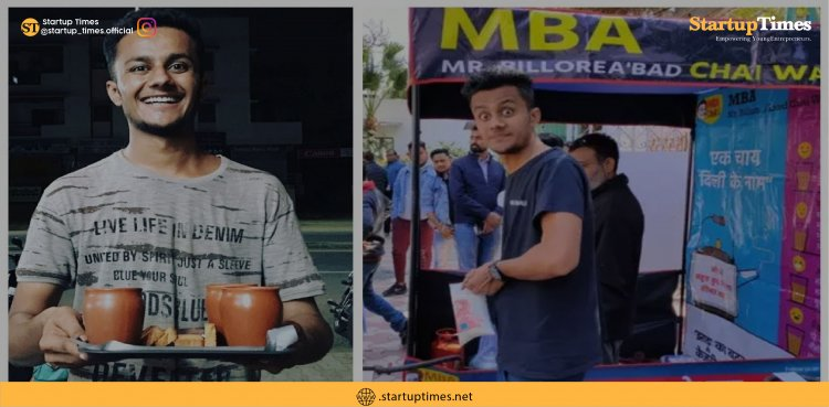 """This """"MBA Chaiwala"""" built a business by just selling tea."""