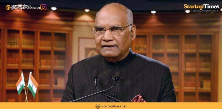 President Kovind hails Modi govt's 'easy loans' for small businesses