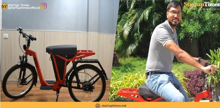 PiMo E-bike launched by IIT Madras incubated startup