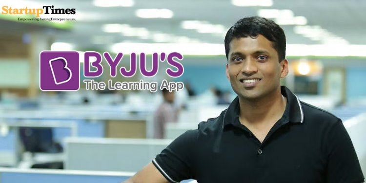 BYJU'S becomes India's second largest startup.