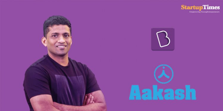 Byju's acquires Aakash Educational Services.