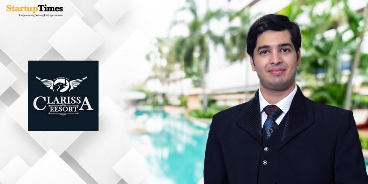 Harshal Dilwali: Started as a teenager, today he is the owner of Clarissa Resorts.