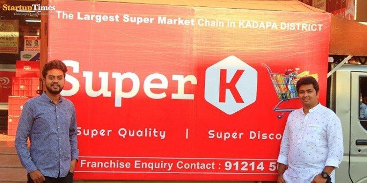 Bengaluru and Kadapa (AP) based startup, SuperK, motivates local entrepreneurs to build and operate mini supermarkets