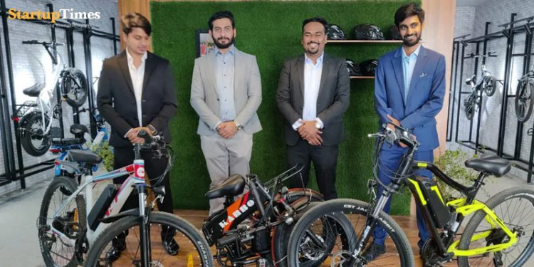 Pune-based EV Startup Riding to Victory.