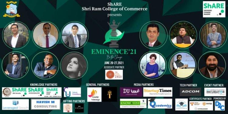 Eminence'21 releases Delegate Registrations