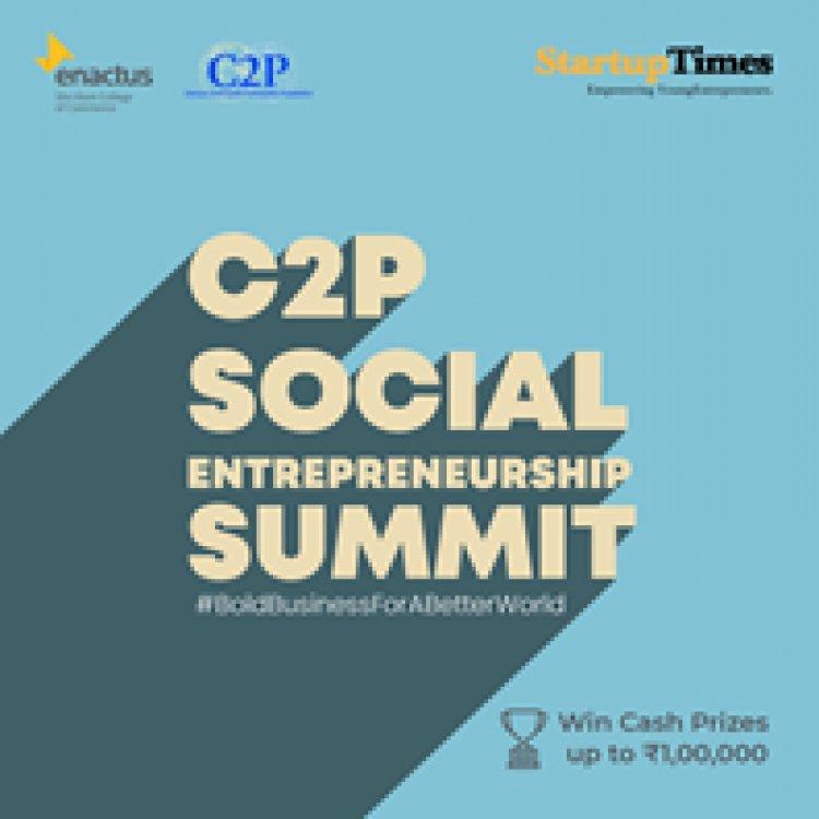 C2P Social Entrepreneurship Summit, Enactus Shri Ram College of Commerce
