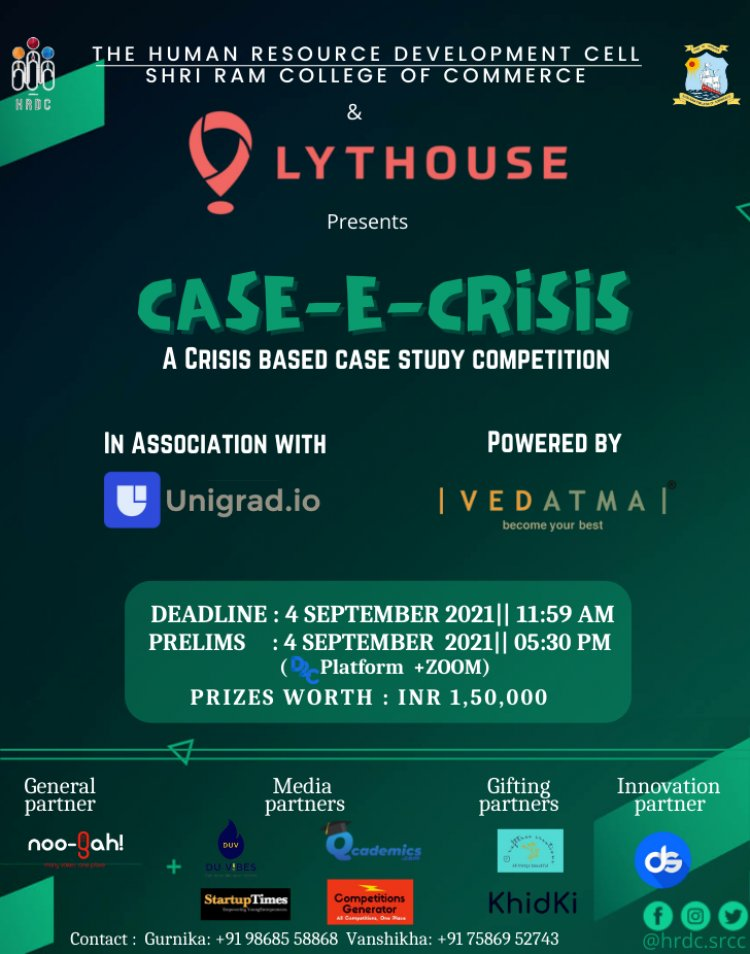 Case-E-Crisis: A case study competition to test your analytical skills