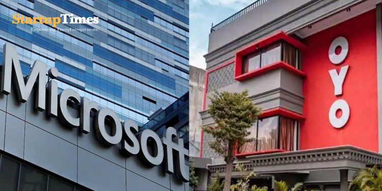 Oyo, Microsoft in tie-up for 'next-gen' travel and hospitality products